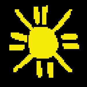 Pixel Sonne