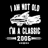 Ich bin nicht alt, ich bin seit 2005 ein Geburtstagsgeschenk