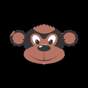 Affe kindlich niedlich