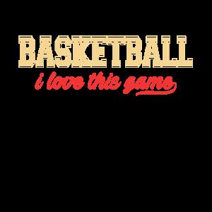 Basketball Ich liebe dieses Spiel
