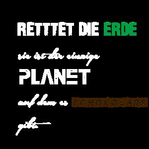 Rettet Die Erde T-Shirt