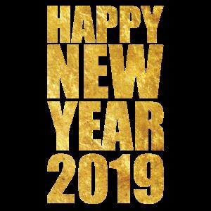 Neujahr 2019 Happy New Year TShirt