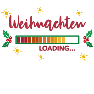 Weihnachten loading Merry Christmas