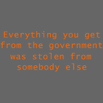 Goverment Theft