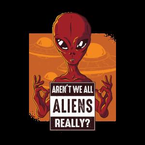 Sind wir nicht wirklich alle Aliens?