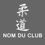 judo japonais blanc modifiable bas