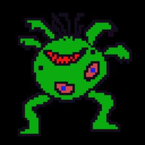monster pixelart mutant