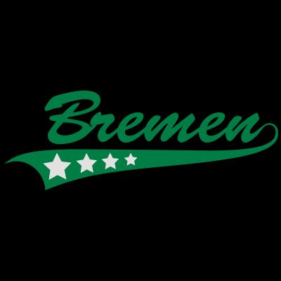 Bremen - Bremen in stylischer Schrift Alle Farben veränderbar ! - stadt,sport,fußball,deutschland,cool,bier,Weser,Style,Hanse,Bremen