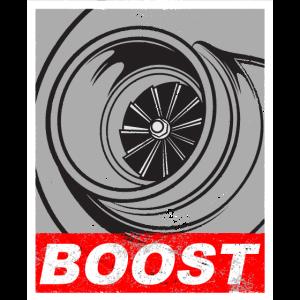 Turbo Turbolader Boost Ladedruck Tuning Geschenk
