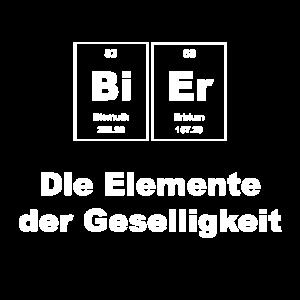 Bier Die Elemente der Geselligkeit Chemie