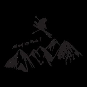 Ab auf die Piste - Skifahren - Winterulraub