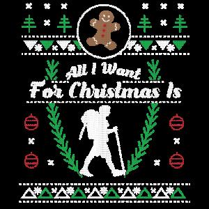 Weihnachten hässliches Hemd wandern