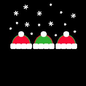 Wintertime Christmas Eve Schnee Geschenk