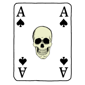 aces of Spades skull
