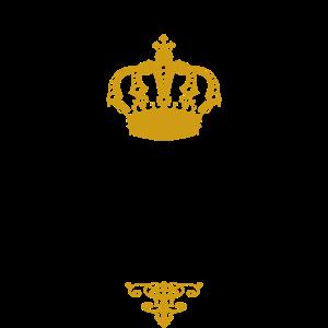 Prosecco Prinzessin schwarz gold