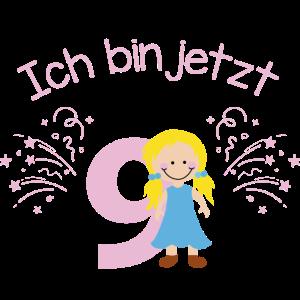 9. Geburtstag Mädchen