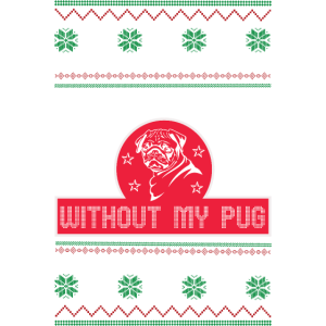 Merry Pugmas Merry Christmas Funny Pug Weihnachten