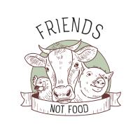 Vegan - Friends Not Food