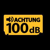 100db baby lautstärke