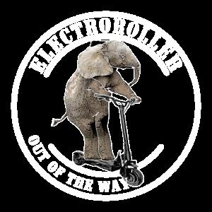 Elektroroller E-Roller Elefant Geschenkidee