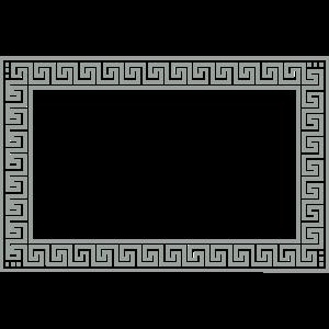meander frame (b, 1c)