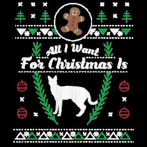Pet Serval Christmas hässliches Hemd