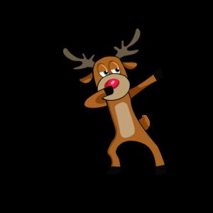 Dabbing rentier, Dab, Weihnachten, Dabbing Rudolf