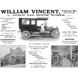 Vincent's Motor Works Reading