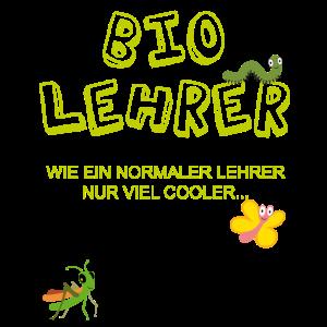 Biolehrer Bio Lehrer Biologie Geschenk T-Shirt