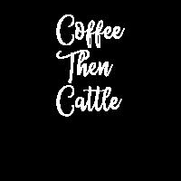 Kaffee, dann Vieh