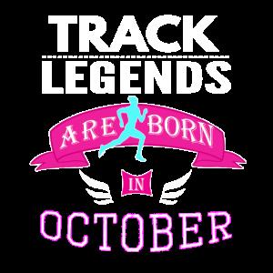 Track Legends werden im Oktober geboren