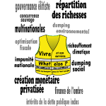 t shirt gilet jaune projet de societe repartition