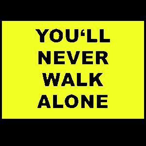 you never walk alone im Dortmund Style
