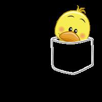 Ente Tasche - Stofftier, Plüschtier, Geschenk
