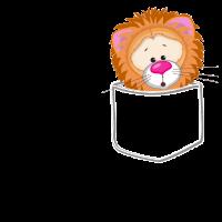 Löwe Tasche - Stofftier, Plüschtier, Geschenk