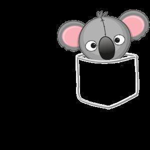 Koala Tasche - Stofftier, Plüschtier, Geschenk