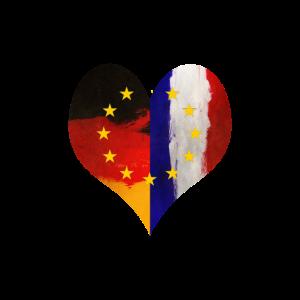 Frankreich und Deutschland Freundschaft