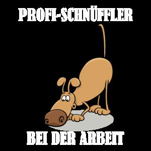 Profi Schnüffler bei der Arbeit