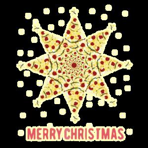 Merry Christmas mit Pizzasternen