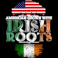 Amerikaner gewachsen mit irischen Wurzeln warnen heraus
