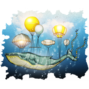 Wal, Fliegender Wal