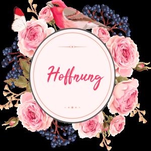 Hoffnung Blumen Liebe Geschenkidee