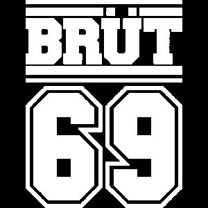 BRUT 69 SCHWARZES TEE