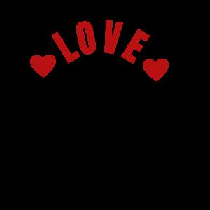 LOVE LIEBE HERZ GESCHENK