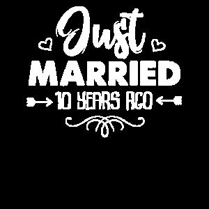 Gerade verheiratet vor 10 Jahren