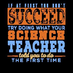 Naturwissenschafts-Lehrer