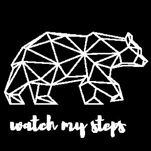 Geometrie Bär - watch my steps