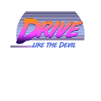 Drive the Devil Shirt 80s