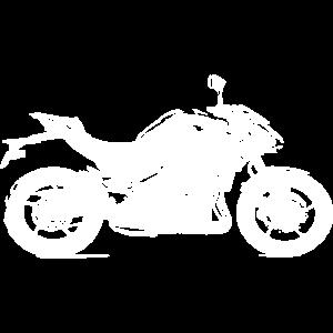 Naked Bike eines japanischen Herstellers