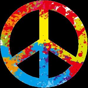 Peace Symbol - 70er Jahre - Frieden Symbol
